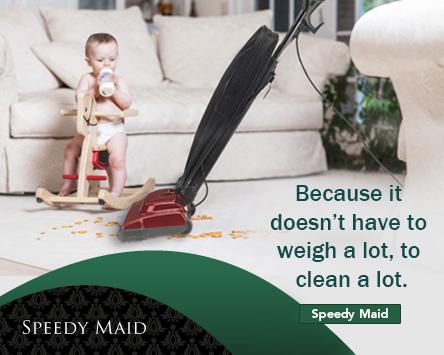 Fuller Brush Speedy Maid Ultra Lightweight Upright Vacuum Cleaner